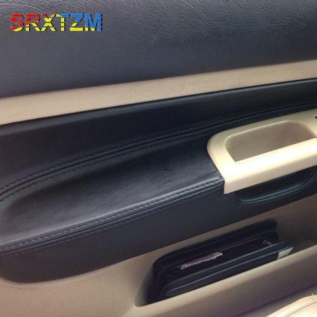Srxtzm Microfibre Leather Protective Center Armrest Interior Door Panel And Armrests Cover For Volkswag Golf Mk4 Bora 2002 Vw Passat Volkswagen Passat Vw Golf
