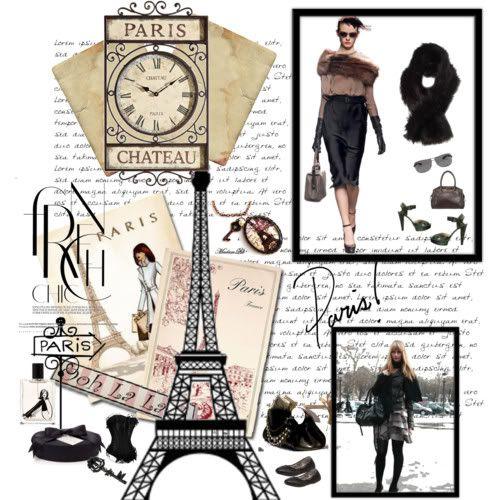 New Shabby Tres Chic Paris Eiffel Tower Pink Black Shower Curtain Bathroom Set Black Shower