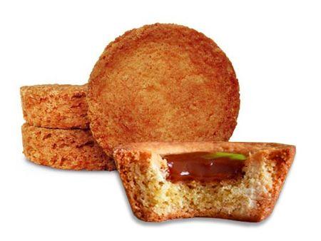 Palets bretons fourrés caramel au beurre salé