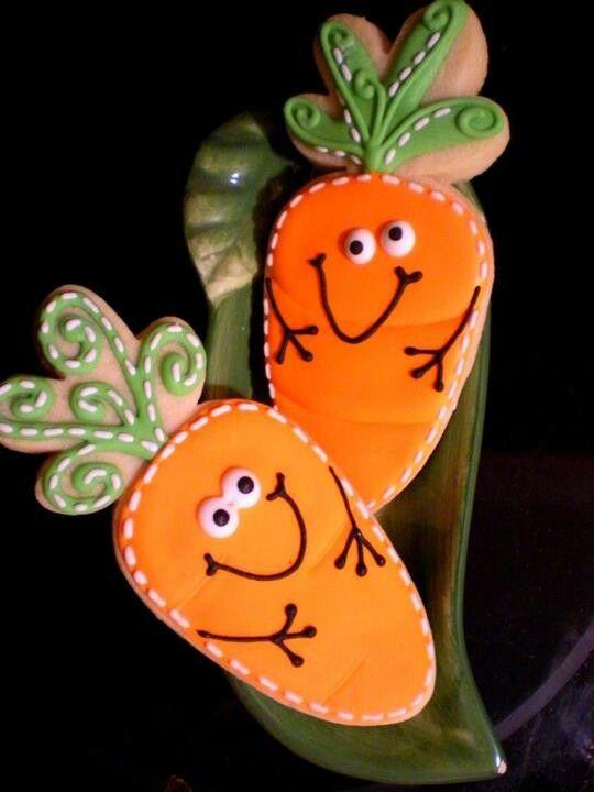Cutie Carrot cookies