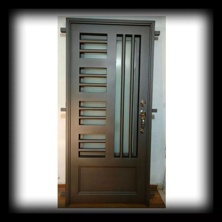 698 mejores im genes sobre puertas y ventanas en pinterest for Puertas principales de herreria casas
