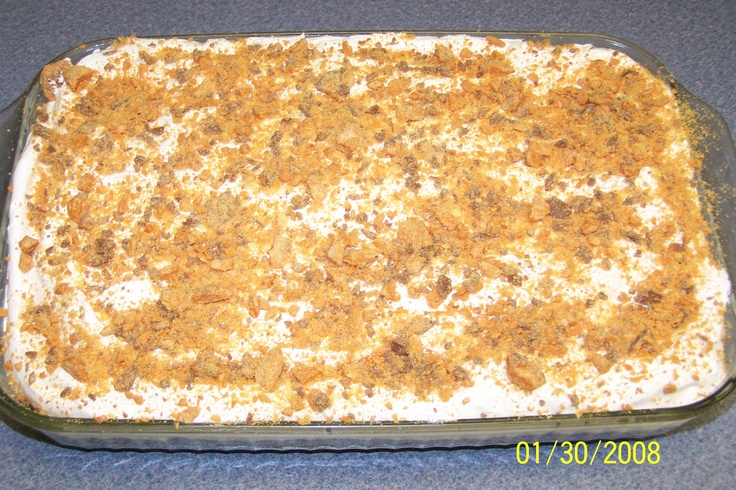 Butterfinger Delight Recipe With Angel Food Cake