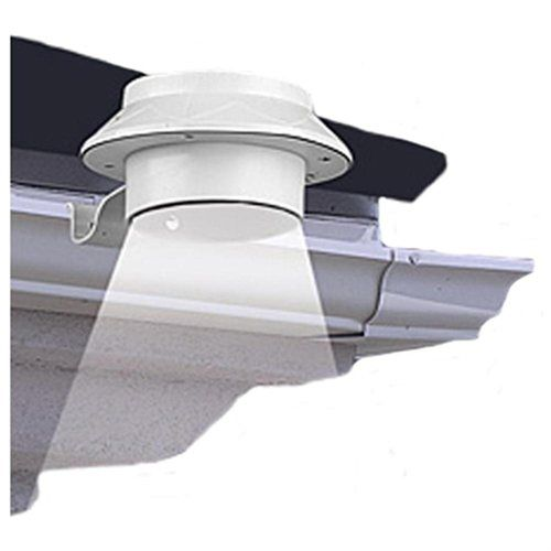 Outdoor Solar Powered LED Light (attaches to gutter)