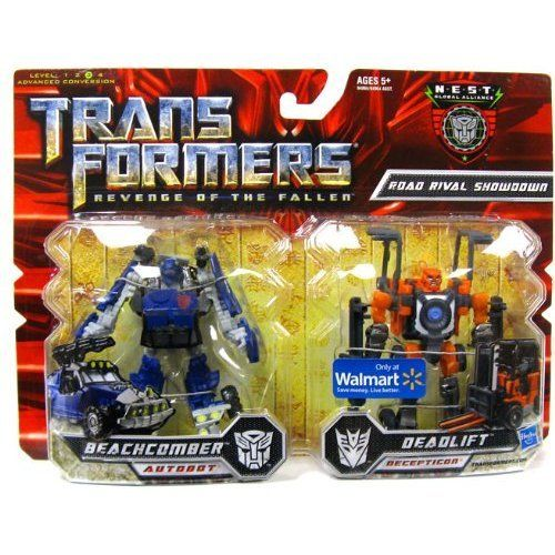 Transformers 2 Revenge of the Fallen Movie Exclusive Global Alliance 2Pack Road Rival Showdown Beachcomber  Deadlift ** You can get more details by clicking on the image.Note:It is affiliate link to Amazon.