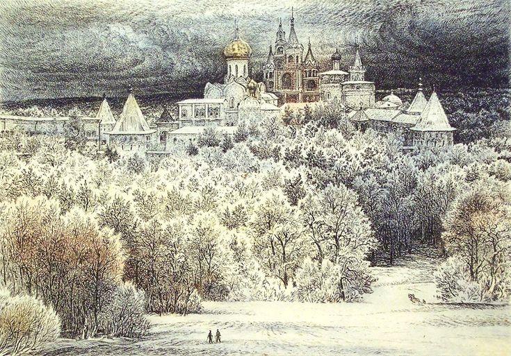 Виталий Губарев.Иней .Звенигород