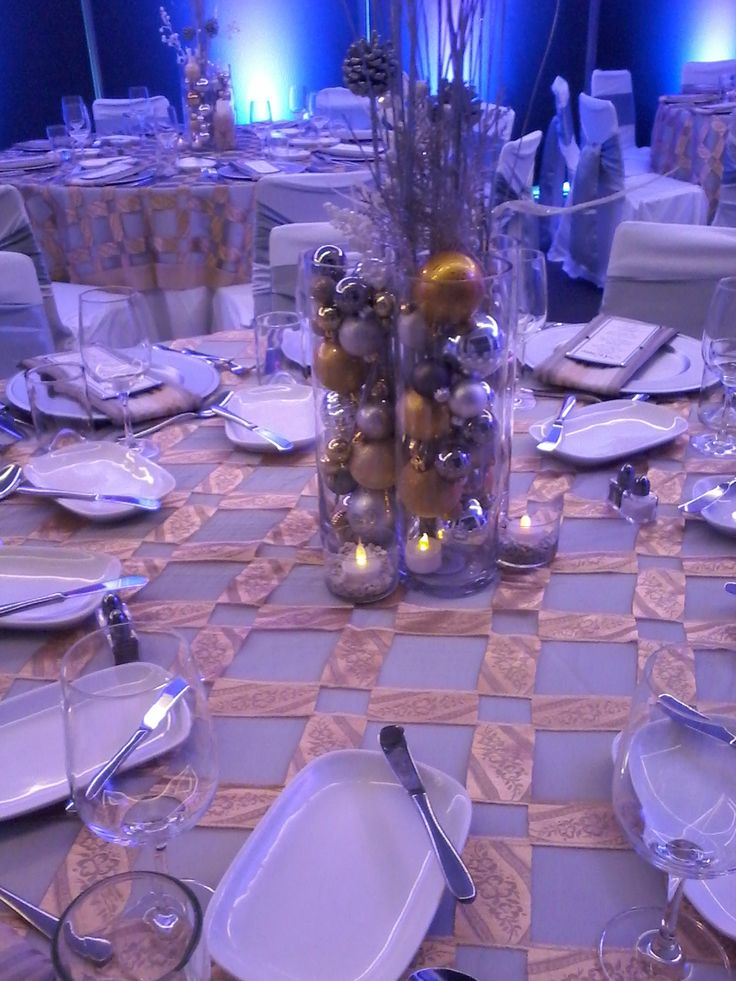 9 Best Silver Gold Christmas Party Decor Images On