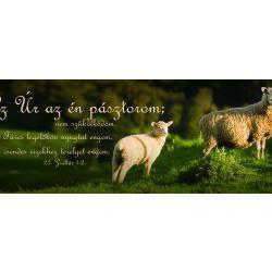 """Könyvjelzõ - Bárányok (""""Az Úr az én pásztorom..."""")"""