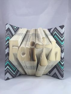 Book Folding Pattern-DIY-Faith 426 Folds by BookishExpressions.  Comes with FREE heart pattern!  Only $5.95!