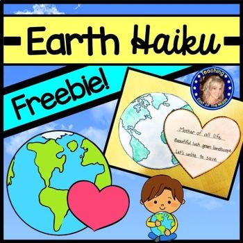 Celebrate Earth Day in your classroom with this cute Haiku template!  Perfect to create an Earth Day bulletin board!Included in this free download is a template for students to write and publish their own Haiku about Earth.  The publishing template can be cut out and colored to create a fun bulletin board in your classroom to celebrate our beautiful Earth!This Earth Haiku is a freebie sample of my Earth Day Activities and Action Project Resource!