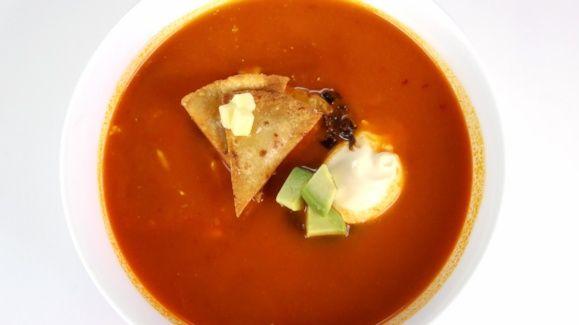 Pati Jinich's Tortilla Soup