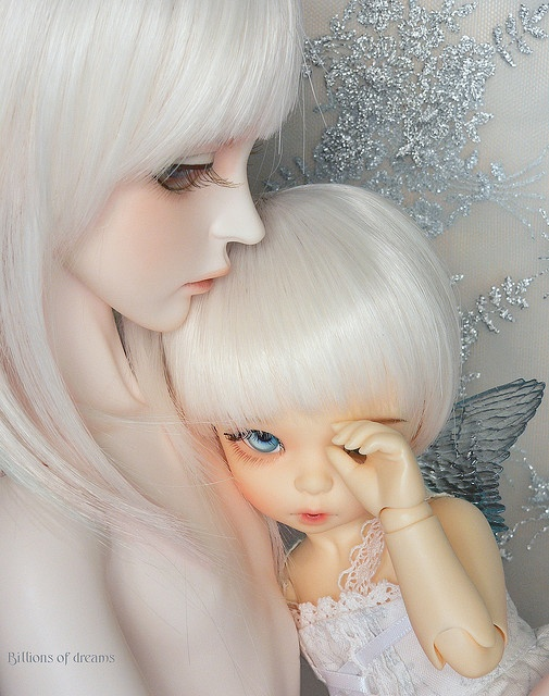 Doll Mommy And Child