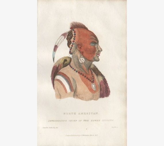 North American Sewessissing Chief of the Eowah Indians