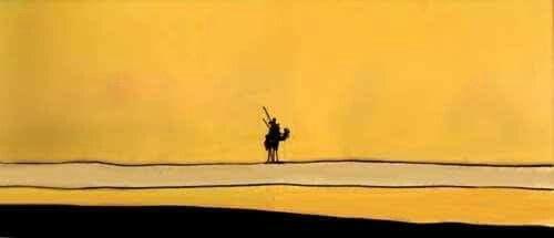«Io, fratello mio, ho deciso di percorrere la terra in tutti i sensi, si va, si va, si vede sempre qualcosa di nuovo e non si pensa a niente. Il vento soffia contro e si direbbe che cancelli la polvere della tua anima»  Maksim Gor'kij, Konovalov, 1897.