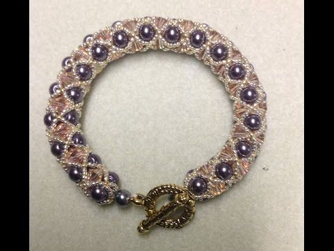 Video:  Netted Rope Bracelet Tutorial #Seed #Bead #Tutorials