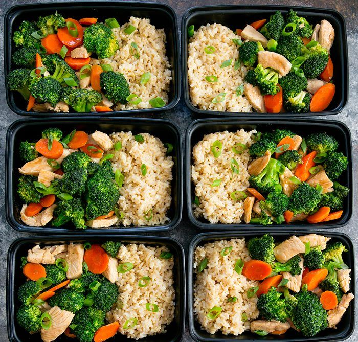 Chicken and Broccoli Stir Fry Meal Prep