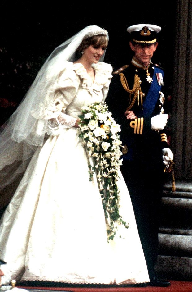 July 1981 Prince Charles Marries Lady Diana Spencer In An Elaborate Wedding Ceremony Televised Worldwide From St Paul S Cathedral London