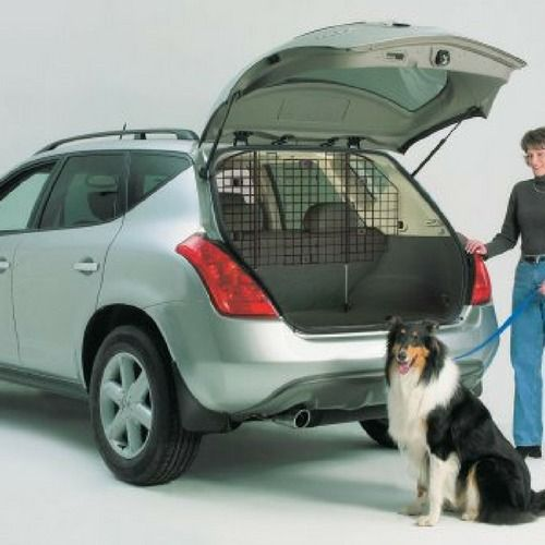 Pet Wire Car Back Seat Dog Universal Barrier Mesh Safe Vehicle Puppy Cage Kennel #PetWireCar