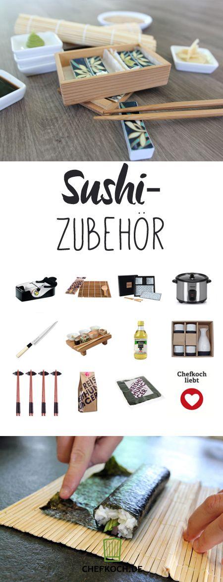 Nützliche Sushi-Sets: Zubehör für selbst gemachtes Sushi gibt es wie Sand am Meer. Das braucht ihr wirklich