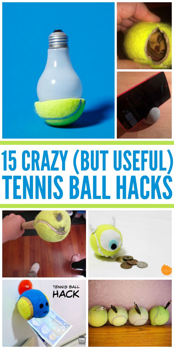 I can't believe my eyes! These Tennis ball hacks are amazing! - One Crazy House