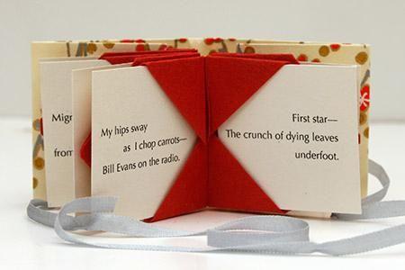 Mini Book of Haiku   Minature Books   Green Chair Press