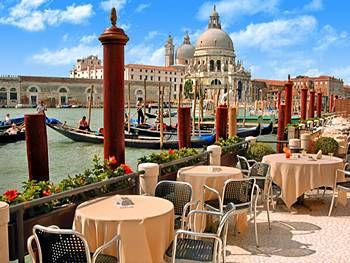 Hotel Monaco Grand Canal Venice Restaurant View Monogramsvacation