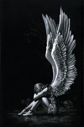 naturalistisch; dit werk is naturalistisch omdat niemand echt weet hoe een engel er uit ziet, omdat ze niet bestaan. maar toch is ze heel realistisch afgebeeld met veel details. de maker heeft de vleugels, waarvan in fabels word gezegd dat engelen die hebben, heel realistisch nagemaakt.