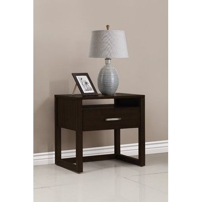 Brisbane 1 Drawer Nightstand Color: Tobacco - http://delanico.com/nightstands/brisbane-1-drawer-nightstand-color-tobacco-605157922/