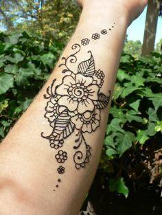 Small Henna Tattoo Designs | henna tattoo by kyla from sKYLArk face ...