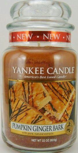 """Pumpkin Ginger Bark"" Yankee Candle Fall 2014!"