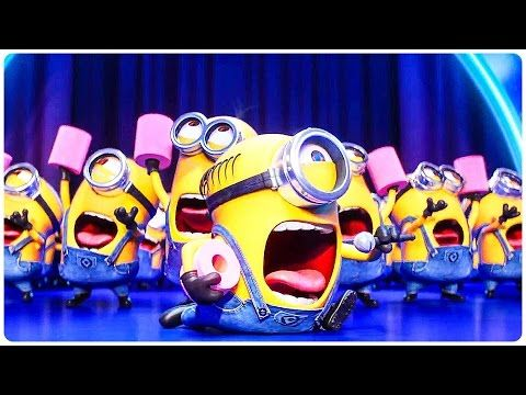 """Despicable Me 3 """"Dancing Minions"""" Extended Trailer (2017) Steve Carell Animated Movie HD - YouTube"""