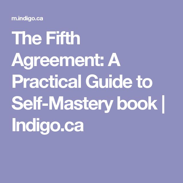 The Fifth Agreement A Practical Guide To Self Mastery Image