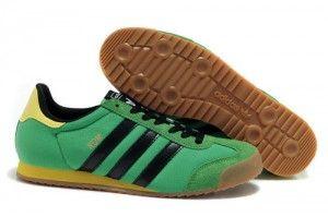 prezzo outlet Trainer Adidas Originals Dragon Uomo verde primavera e nero