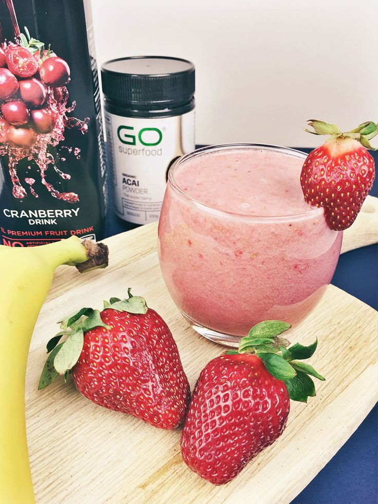 fruity hangover smoothie