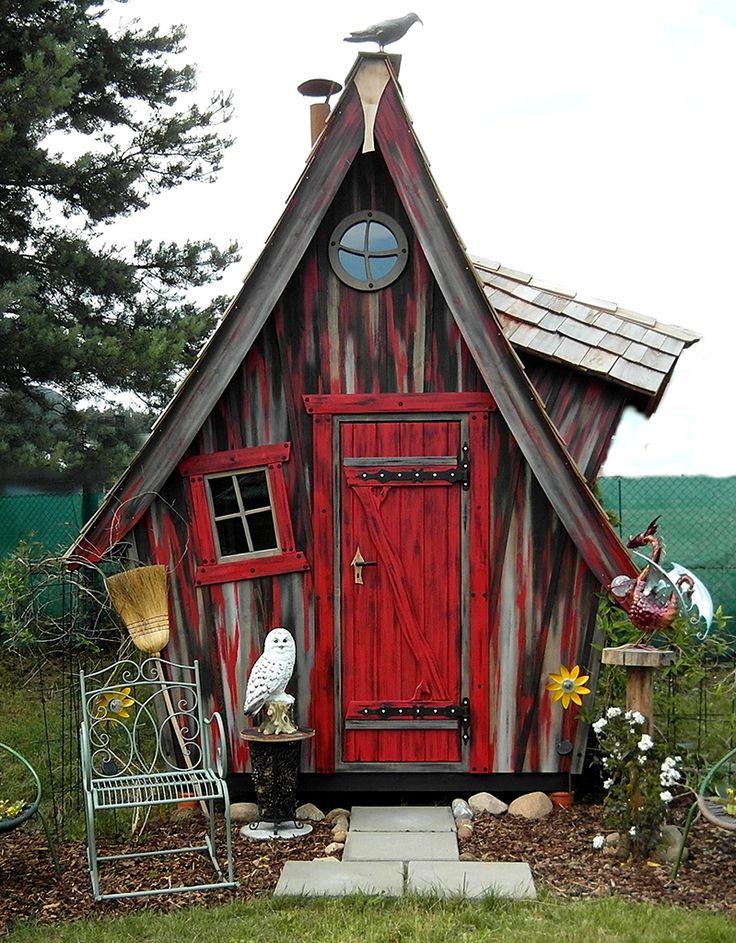 Die 25  besten ideen zu gartenhaus farbe auf pinterest ...