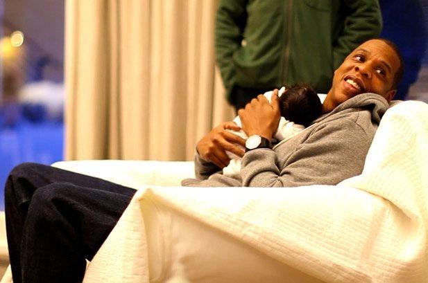 Jay-Z & baby Blue <3