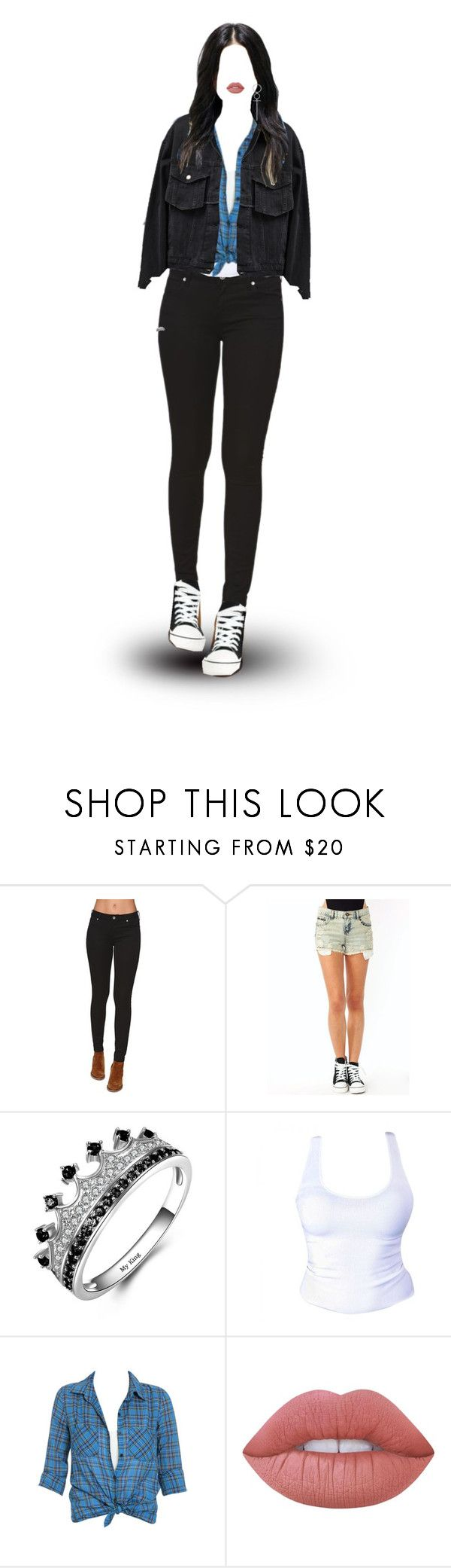 """""""Ordinary Girl"""" by mybunnybooty ❤ liked on Polyvore featuring Bullhead Denim Co., Wet Seal, Aalto and Lime Crime"""