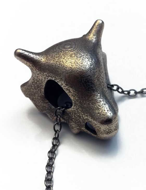 Cubone Skull Necklace