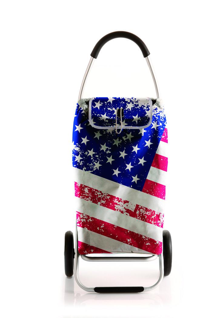 Roadrunner Folding Grocery Shopping Cart GEORGE