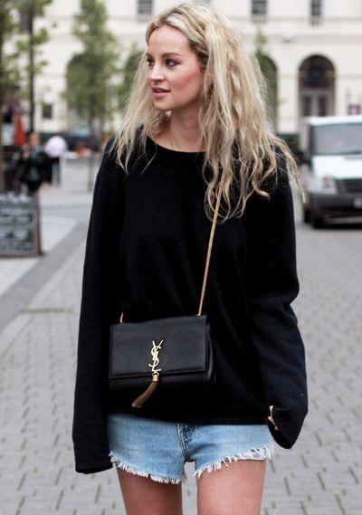 Wanted : un mini sac Saint Laurent, idéal pour doper un look casual