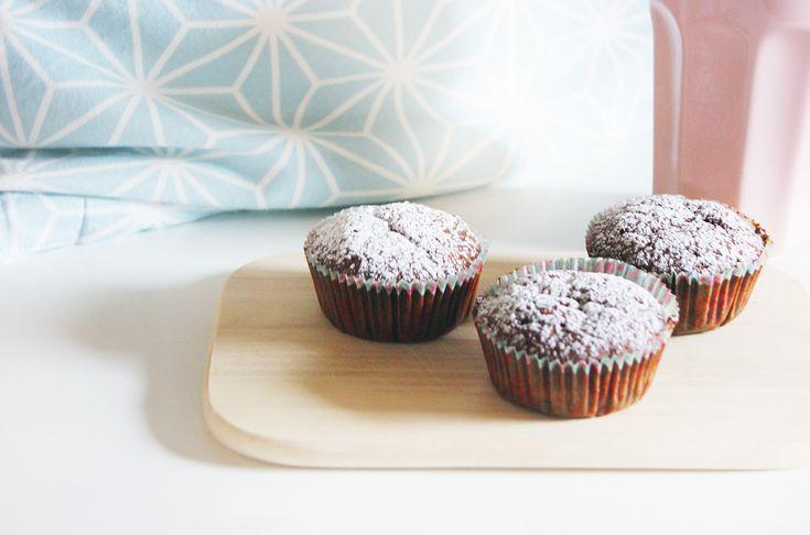 Schnell und einfach - köstliche Schoko-Bananen-Muffins ♥