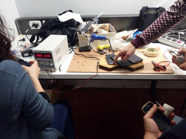 Test con strumentazione da laboratorio presso Hub/Spoke