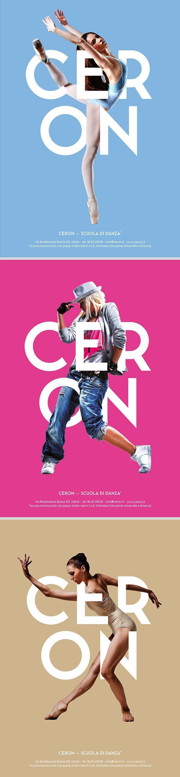 poster set | Ceron Dance School by Ivan Moreale