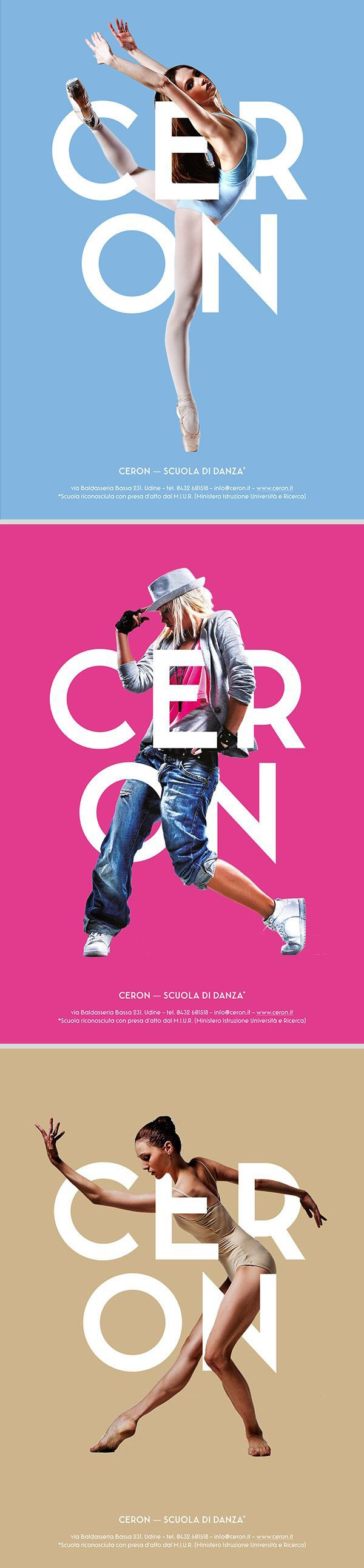 poster set | Ceron Dance School by Ivan Moreale