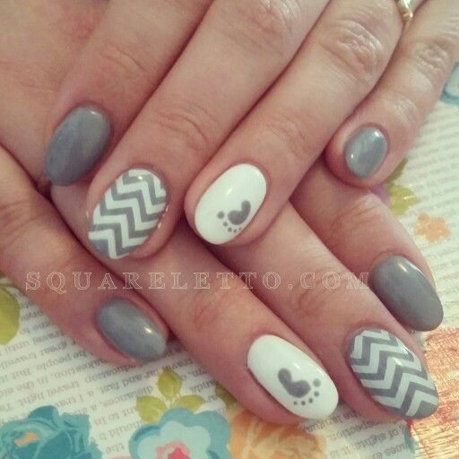 Best 25+ Baby shower nails ideas on Pinterest | Baby nails ...