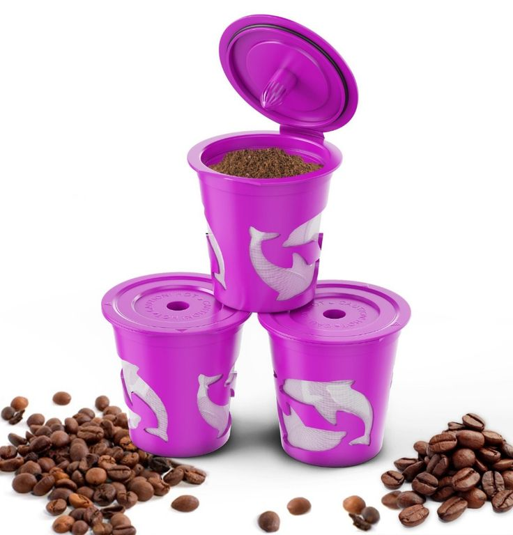 3pcs/set Keuring Refillable coffee Capsule Reusable K-cup Filter for 2.0 & 1.0 Brewers k cup reusable for Keurig machine
