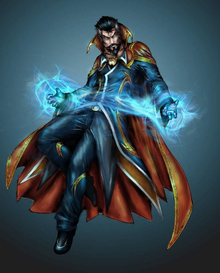 Outside AVENGERS: Five Marvel Heroes We Want On The Big Screen - #3 Doctor Strange!! I would put Doctor Strange higher on that list, although there is a pretty enjoyable animated movie :)