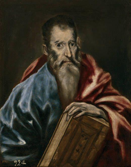 Un apóstol, 1608 - 1614.