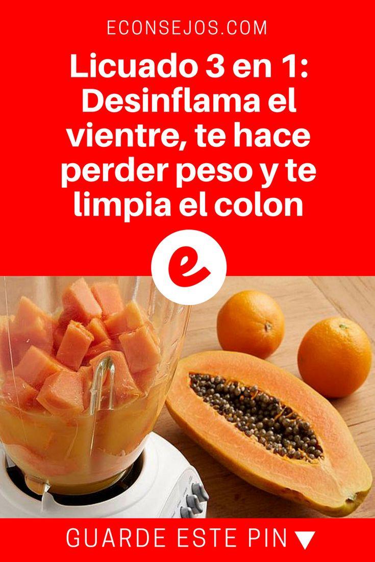 Papaya, avena, leche almendras, canela