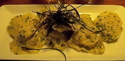 The Aubrey Ravioli at Pasta e Vino!