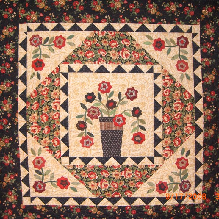17 Best images about Quilt It - My Quilts on Pinterest Quilt, Wall hangings and Geraniums
